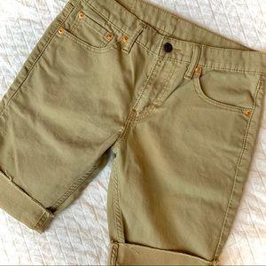 LEVIS 511 Khaki Shorts